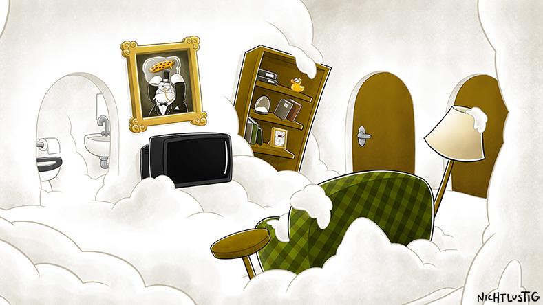 Background Wohnzimmer